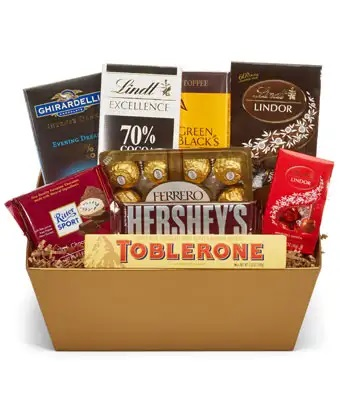 Chocolate Lover Basket
