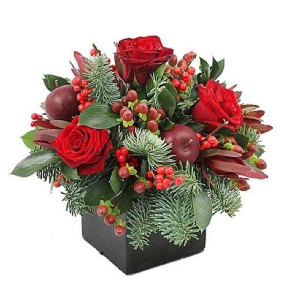 New Year flowers in Box