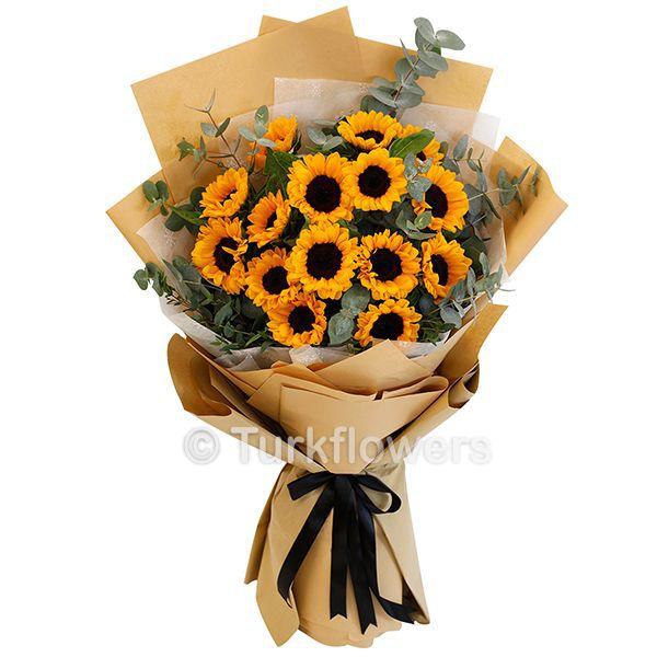 15 Sunflower Bouquet