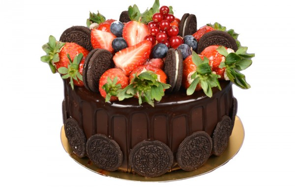 Strawberry cake 4 people