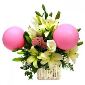 Girl New Baby Flowers