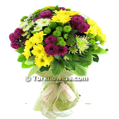 colorful-chrysanthemum-buquet