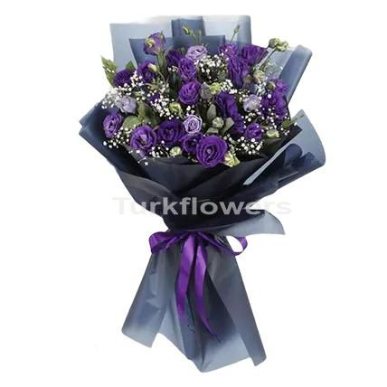 purple-lisianthus