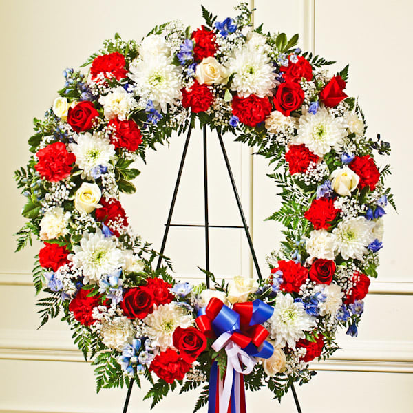 red,-white-&-blue-standing-wreath